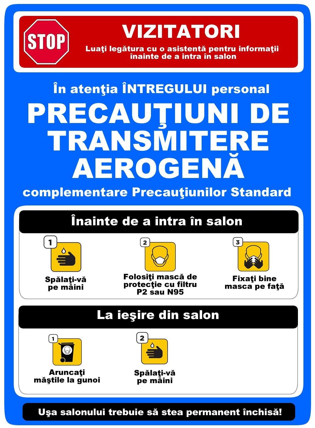 Precautiuni aerogene