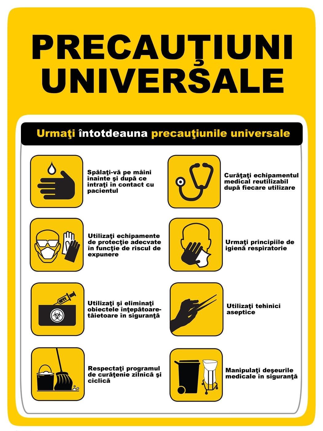 Precautiuni universale
